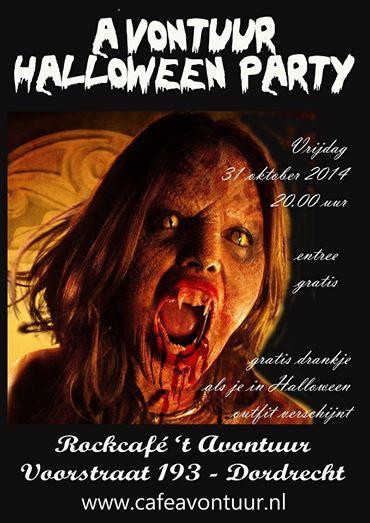 Halloween Zwijndrecht.Halloween In T Avontuur Dordtcentraal Gratis Huis Aan
