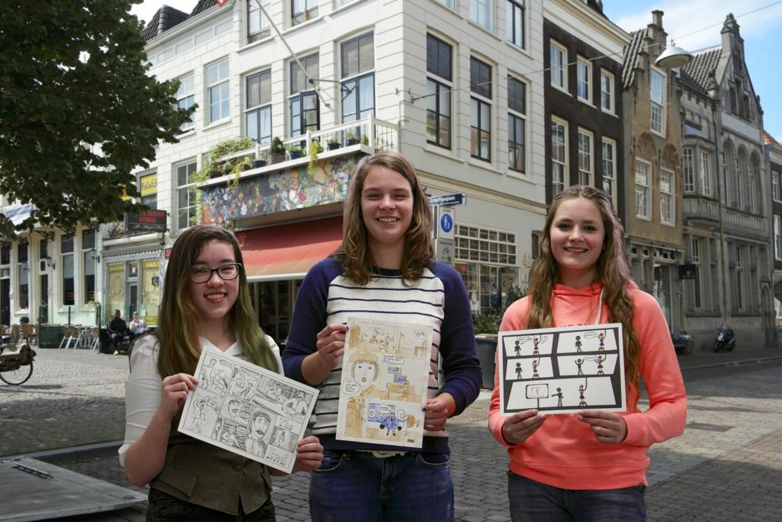 Leerlingen winnen strip oscar dordtcentraal gratis for Huis winnen