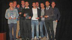 De winnaars bij elkaar op de foto. (Foto: Michel Sterrenberg)