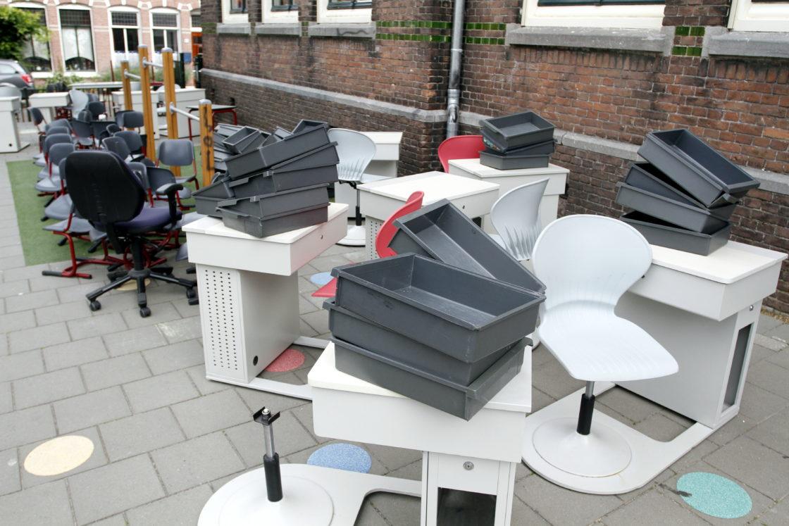 video nieuw meubilair voor opod scholen dordtcentraal