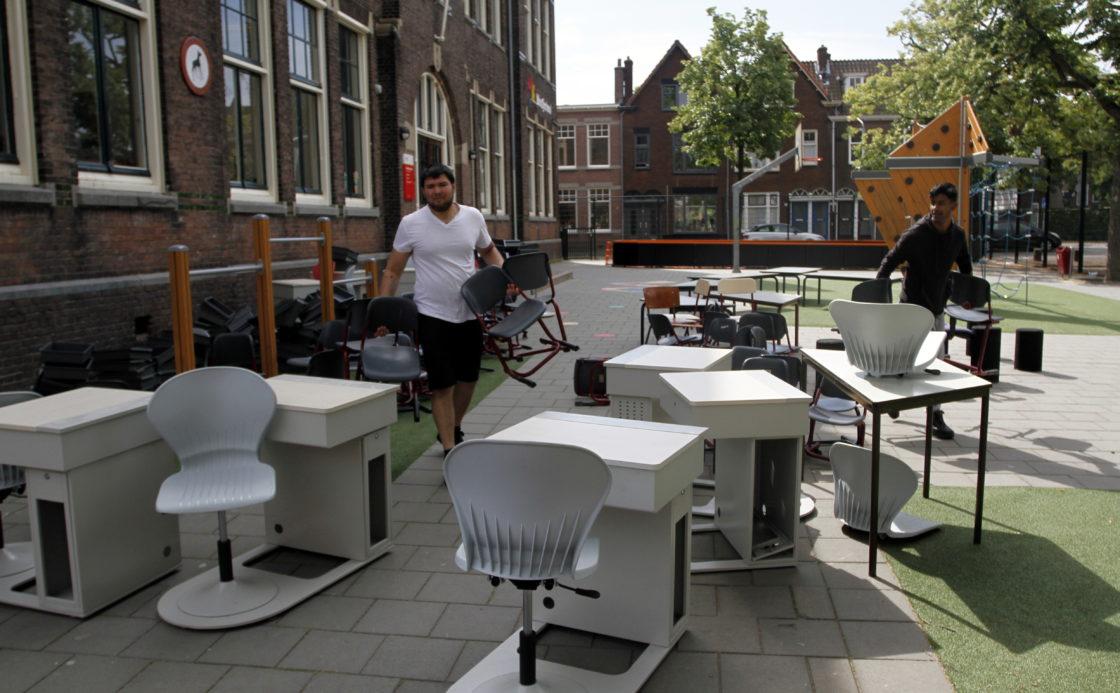nieuw meubilair voor opod scholen dordtcentraal gratis