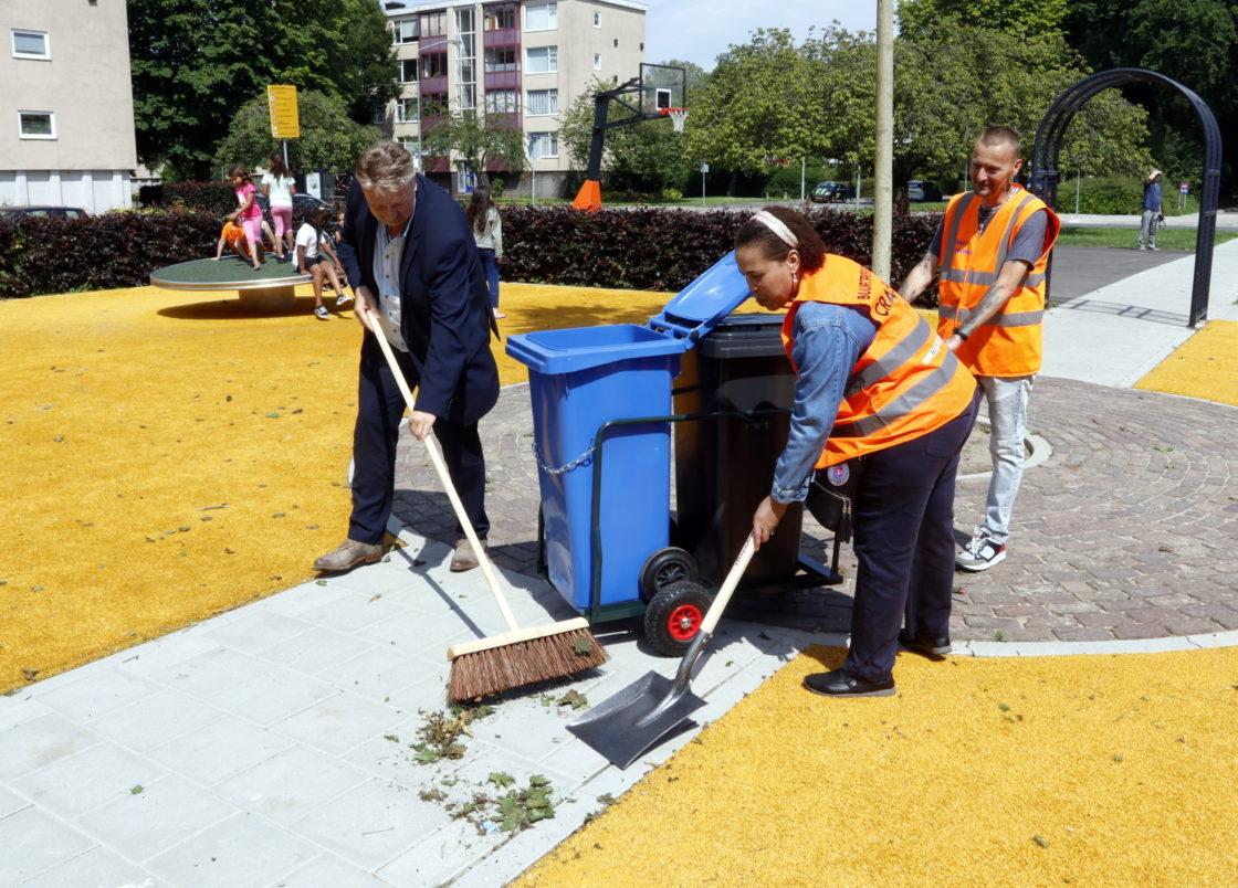 Bewoners in actie tegen zwerfafval - DordtCentraal
