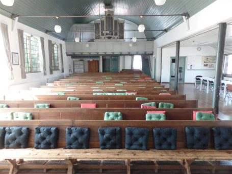 De Rehobothkerk staat te koop